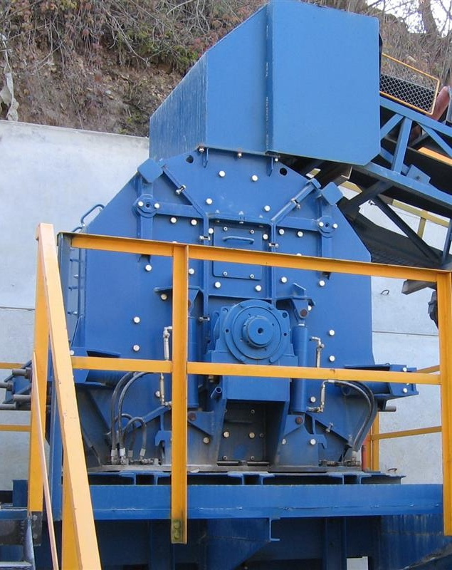 ODJ impact crushers for fine crushing